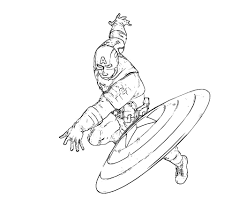 captain america coloring pages the sun flower pages