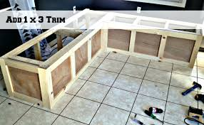 Storage Bench Seat Build by Best 25 Kitchen Bench Seating Ideas On Pinterest Window Bench