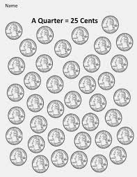 kindergarten and mooneyisms coins part four a quarter u003d 25 cents