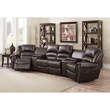 4 Seat Reclining Sofa by Home Theater Seating Dcg Stores