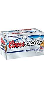 coors light 18 pack coors light 18 pack bottles colorado domestic beer shoprite
