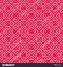 seamless chinese window tracery pattern lattice stock vector