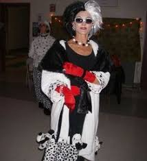 Cruella Vil Halloween Costume Villanas Disney Buscar Google Disfraces