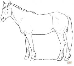 draft horse coloring pages pertaining to encourage www