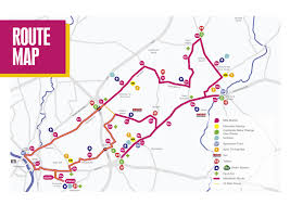 Yorkshire Map Take A Mile By Mile Tour Of The Stunning Yorkshire Marathon Route