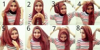 tutorial turban sederhana tutorial hijab untuk pipi tembem hijab pinterest gaya hijab