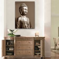 hd oil painting buddha decoration painting home decor on canvas