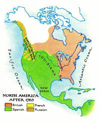 russia map before partition 1763 new partition of america between spain and