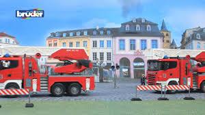 bruder fire truck jouets bruder 03590 scania r series fire engine il est très