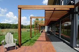modern pergola prairie house no 2 contemporary patio minneapolis by
