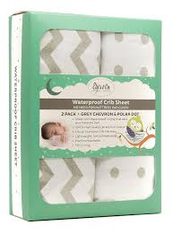 amazon com waterproof crib sheet toddler sheet by ely u0027s u0026 co no