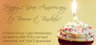 1 yr anniversary borrow it bindaas 1yr anniversary giveaway details the borrow