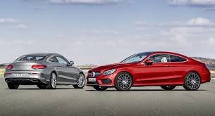 mercedes coupe c class mercedes c class coupe goes on sale in germany priced from
