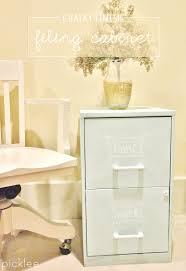 painting a file cabinet chalk painted filing cabinet tutorial picklee