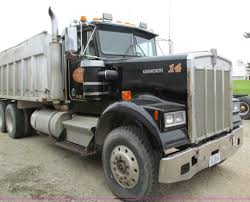 kenworth bed truck 1984 kenworth w900 dump truck item i4180 sold june 12 c