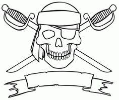 image result paper pirate hat