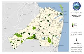 Freehold Mall Map Monmouth County Master Plan