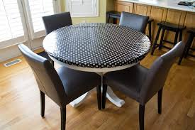 Dining Room Wonderful Amazing Round Dark Blue Vinyl Elastic Table - Awesome 60 inch round dining tables residence