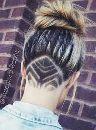 nape of neck hair cut for women 66 shaved hairstyles for women that turn heads everywhere