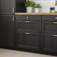 pictures of black stained kitchen cabinets lerhyttan drawer front black stained 15x15