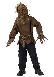 scary halloween costumes child dark scarecrow costume scary