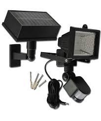 solar motion security flood light with 54 leds