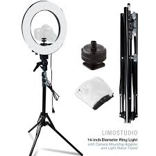 camera copy stand with lights limostudio 14 inch diameter ring light continuous round ring