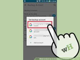 where is my android phone how to back up an android phone on the cloud