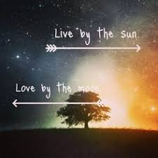 cancer live by the sun by the moon http