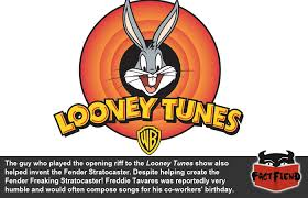 guy played looney tunes theme pretty awesome