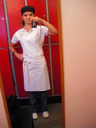 tenu professionnelle cuisine tenue de travail photo de stage dans une pâtisserie suèdoise