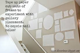 How To Design A Gallery Wall The Most Efficient Way To Create A Gallery Wall Bless U0027er House