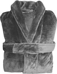 robe de chambre homme personnalisé peignoir polaire uni à personnaliser