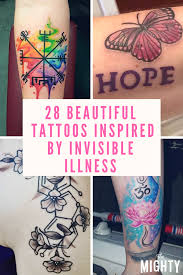 28 tattoos inspired by invisible illness the mighty
