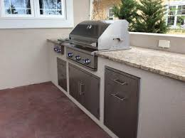 all about outdoor kitchen cabinets part 1 hi tech appliance