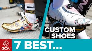bike riding shoes 7 awesome custom cycling shoes youtube
