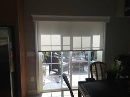 regal cornice over motorized roller shade window shades