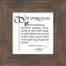 pastor appreciation inspirational scripture framed gift lordsart