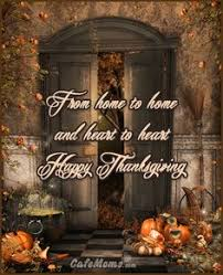 sending blessings happy thanksgiving graphic plus many