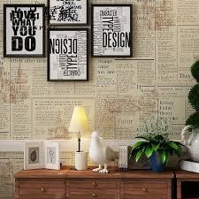 online buy wholesale retro wallpaper newspaper from china retro