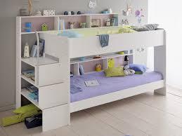 Parisot Bibop  Girls White Bunk Bed Parisot Bunk Beds - Girls white bunk beds