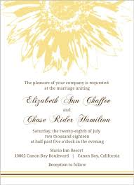 wedding invitations hamilton yellow and brown sunflower wedding invitation wedding invitations
