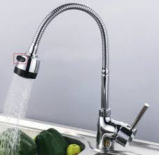 low pressure kitchen faucet free shipping 360 degree swivel spray and dual use kitchen