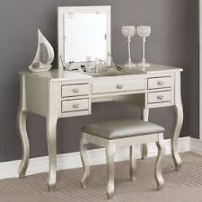 Bedroom Vanity Table With Drawers Bedroom Makeup Vanity Table Flip Up Mirror Drawers