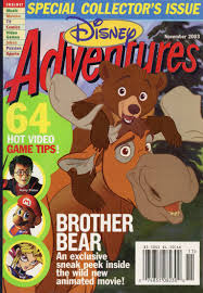 image disney adventures magazine cover november 2003 brother