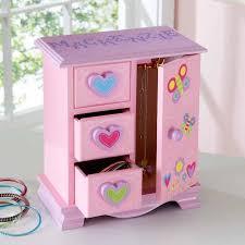 personalized ballerina jewelry box personalized secret garden jewelry box walmart