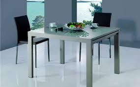 tavoli da sala da pranzo moderni tavolo da pranzo metallo laccato tortora