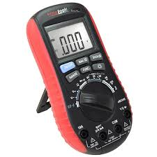 digital multimeter with battery tester accurate fast auto
