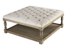 rectangular ottoman tufted coffee table favourable intended for