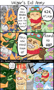 veigar s evil army not enough league of legends memes by jaskirat